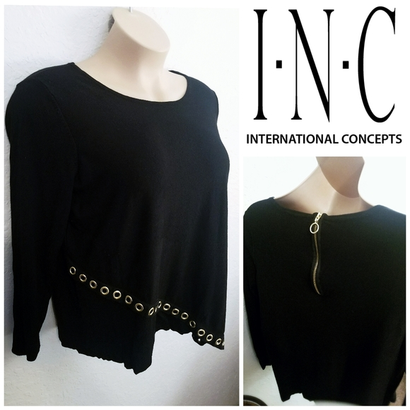 INC International Concepts Sweaters - Asymmetric Sweater | I.N.C. | Women's 1X